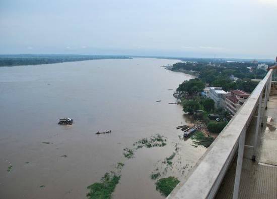 Hotel Oubangui: View from penthouse suite at Bangui Hotel