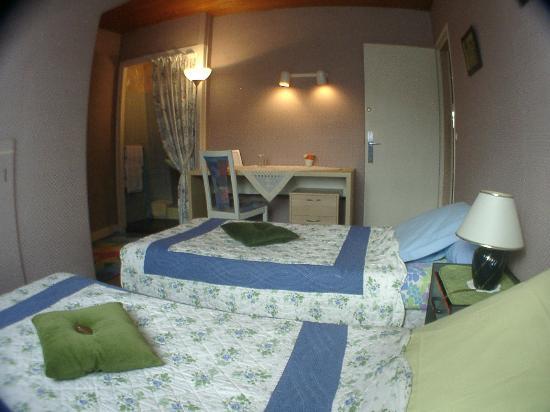 Le Cottage: A l'étage -  La Chambre Verte -