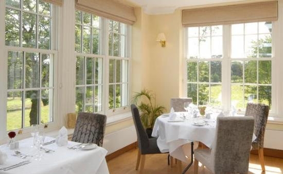 Losehill House Hotel & Spa: The Orangery Restaurant with stunning views