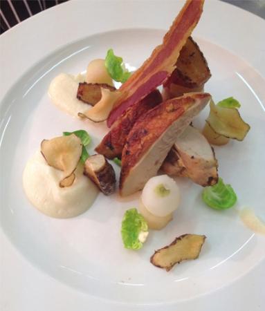 Losehill House Hotel & Spa: Delicious Smoked Chicken