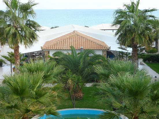 Alykanas Beach Apart-Hotel: view from room 218