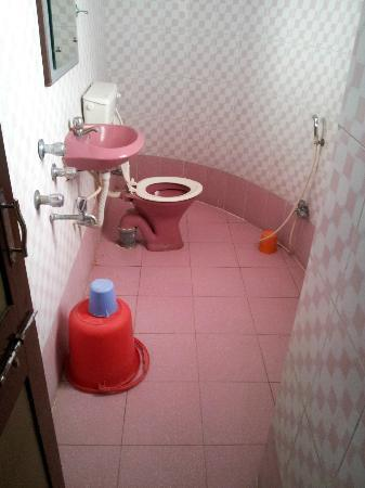 Hotel Sharan : Nice and Clean Bathroom