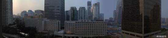 Shangri-La's China World Hotel: View from my room