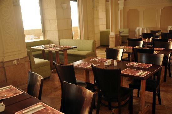 Blue Weiss Hotel: Breakfast room