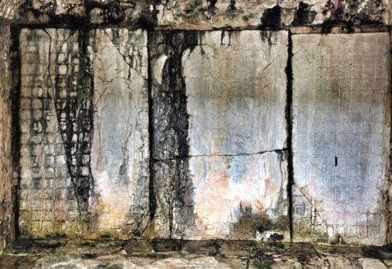 Hotel Xibalba: palenque ruins, Mayan text