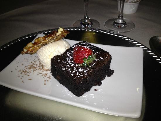 Castello di Monte: Chocolate brownie.....