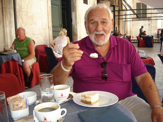 Valamar Club Dubrovnik: Kaffe på Gradska kavana i Dubrovnik