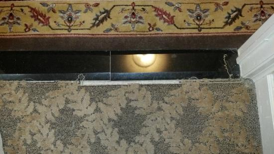 The Read House Historic Inn And Suites: Watch out for the carpet tacks!