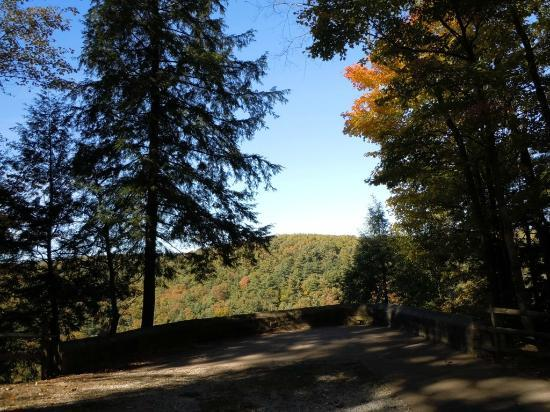 Mohican Lodge and Conference Center: Scenic Overlook at Clear Fork Gorge