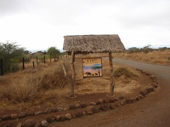 Kibo Safari Camp: Kibo Sign