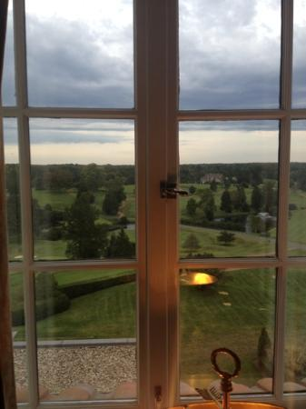 Keswick Hall: view from room