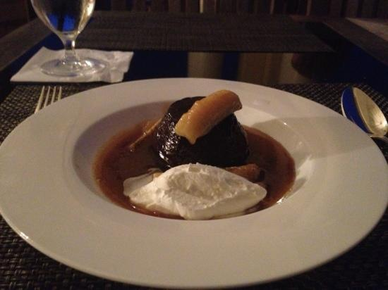 Keswick Hall: sticky toffee pudding