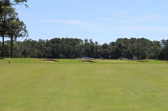 Glen Dornoch Waterway Golf Links : Not easy!