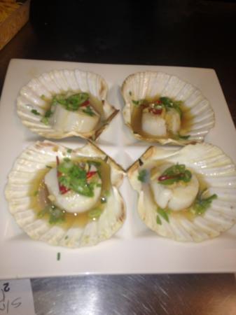 Lili's Chinese Restaurant: beautiful garlic chilli scallops