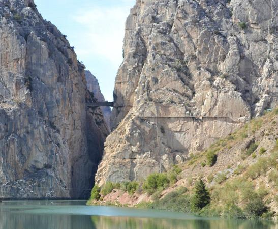 Ardales National Park: El Caminito del Rey (English: The King's little pathway)