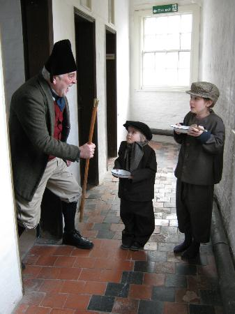Workhouse Museum: Volunteers in costume