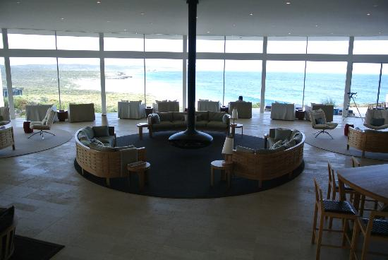 Southern Ocean Lodge: The Great Room...