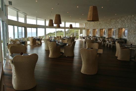 Southern Ocean Lodge: Dining area....