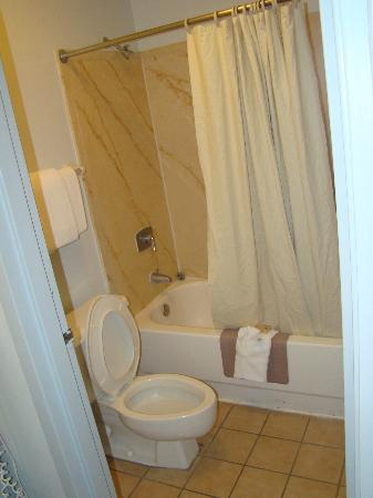 Comfort Inn Midtown: Very clean bathrooms