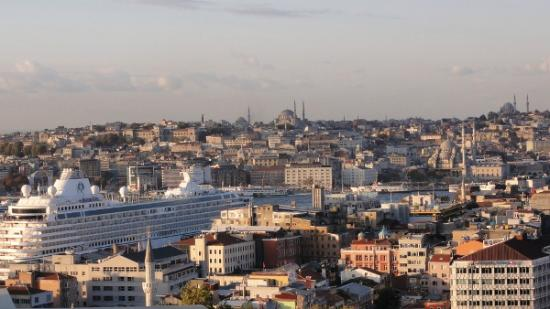 Witt İstanbul Hotel: View from Terrace @Queen panoramic with terrace