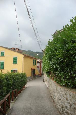 Borgo Isora: view from my bedroom