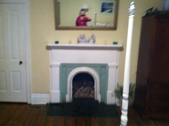 Carriage Lane Inn: the fireplace in middle Tennessee""