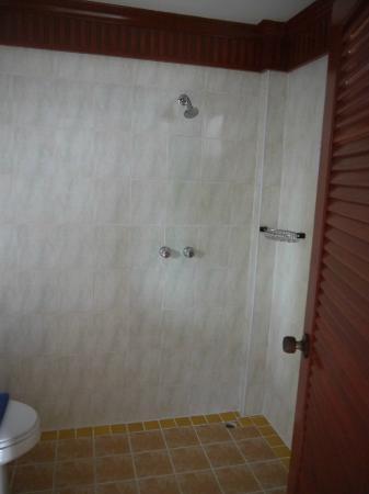 Palmview Resort Patong Beach: salle de bains douche