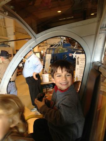 American Helicopter Museum and Educational Center: You can sit in many of the helicopters