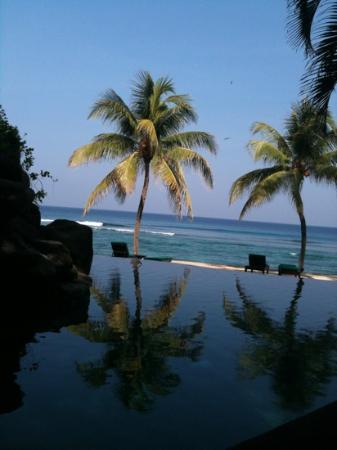 Alang-Alang Boutique Beach Hotel: vue de la chambre