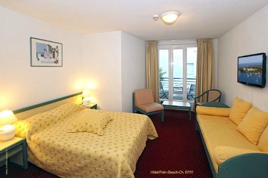 Hotel Palm Beach : SUITE