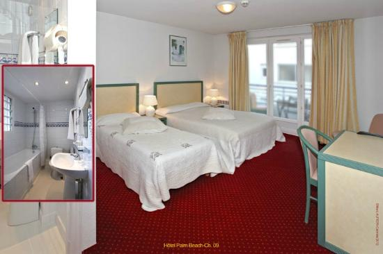 Hotel Palm Beach: chambres