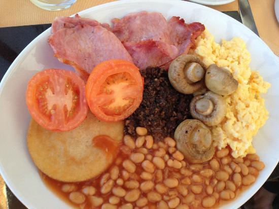 Bonsyde House Hotel: scottish breakfast