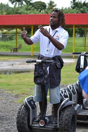 LucianStyle Segway Day Tours: Lloyd giving instructions