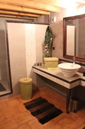 Le Mas d'Emilie : La mignonne salle de bain