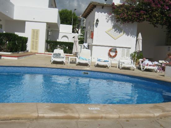 Hotel D'Or: pool area