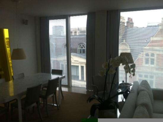 St Martins Lane London Hotel: Penthouse Apartment Wohnzimmer