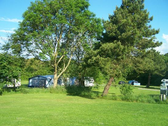 Franchis Holiday Park: Front fields