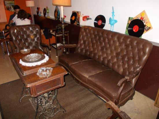 Sommer Restaurante: hygge sofa