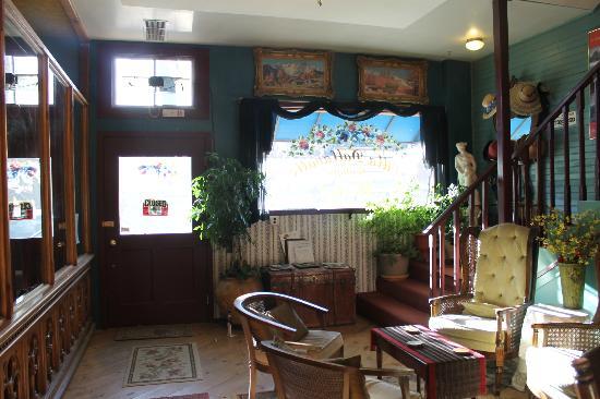 Villa Dallavalle: El salón