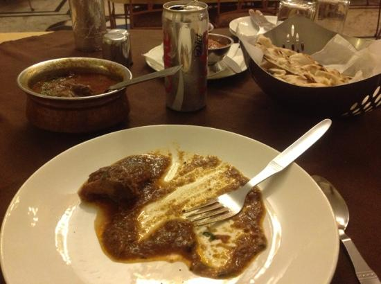 Park Dining Room : their mutton korma...so not korma. he said the shahi korma is the creamy korma. just word of c