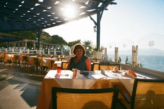 Labranda Ephesus Princess: Терраса для завтрака