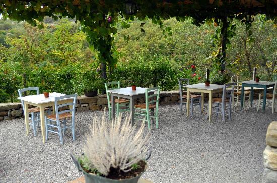 Borgo di Carpiano: La veranda