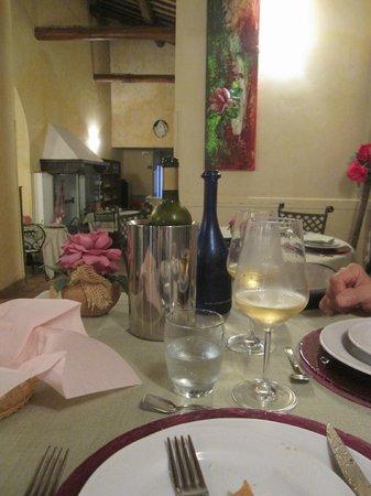 Dining at La Locanda del Borgo
