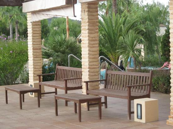 Garbi Cala Millor: outdoor seating