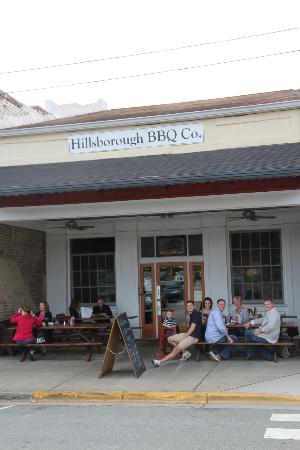 Hillsborough BBQ Company: Front of Hillsborough BBQ