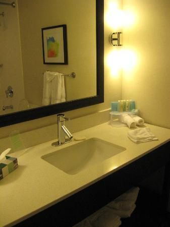 Holiday Inn Express - Sault Ste. Marie: Renovated bathrrom