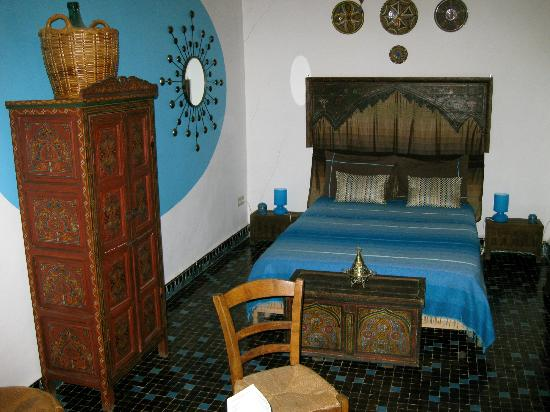Ryad 53: Das türkise Zimmer, sehr schön! 