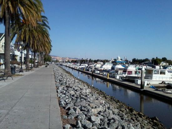 Hampton Inn and Suites Suisun City Waterfront: Walking path