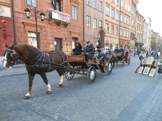 Mamaison Hotel Le Regina Warsaw: Square of the Old Town