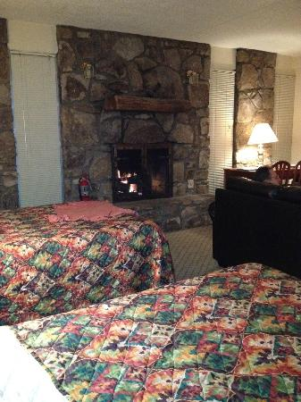 Gatlinburg Town Village: Our room...looks can be deceiving.